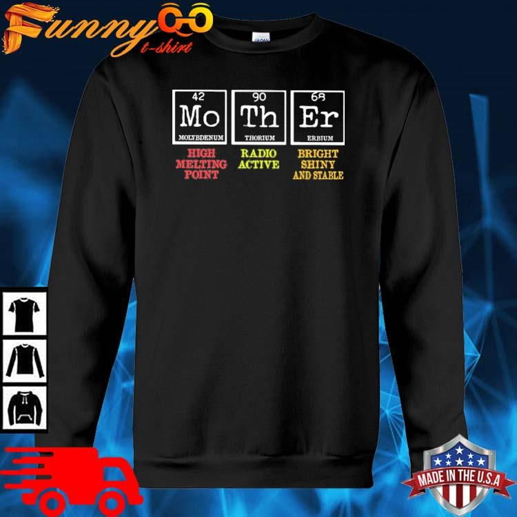 Mother High Melting Point Radio Active Bright Shiny And Stable Shirt sweater den