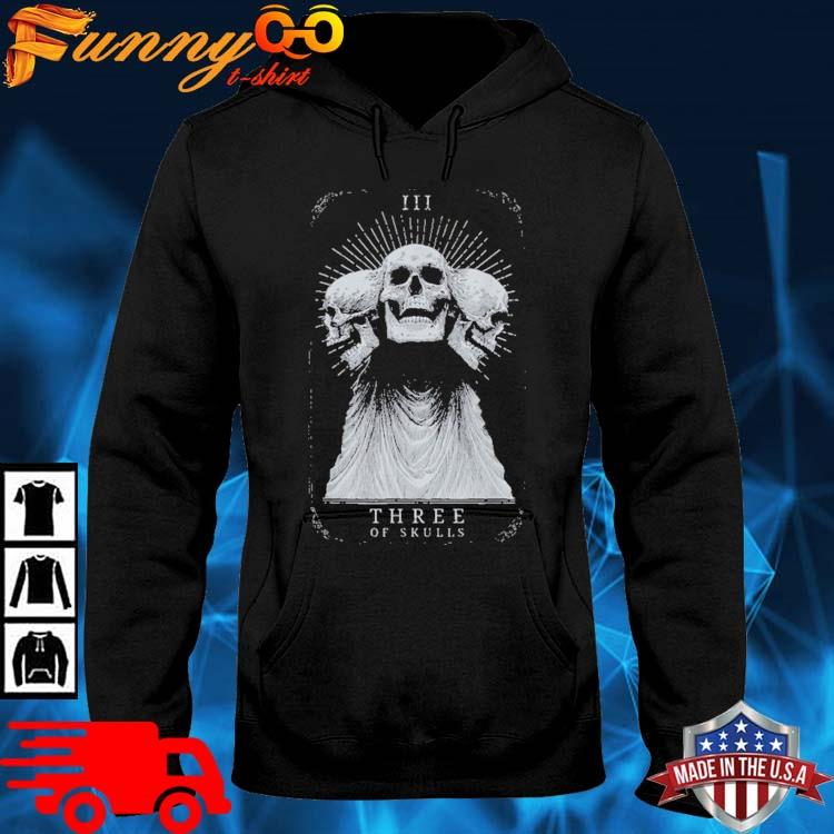 Showdown Anniversary Three of Skulls Black Shirt hoodie den
