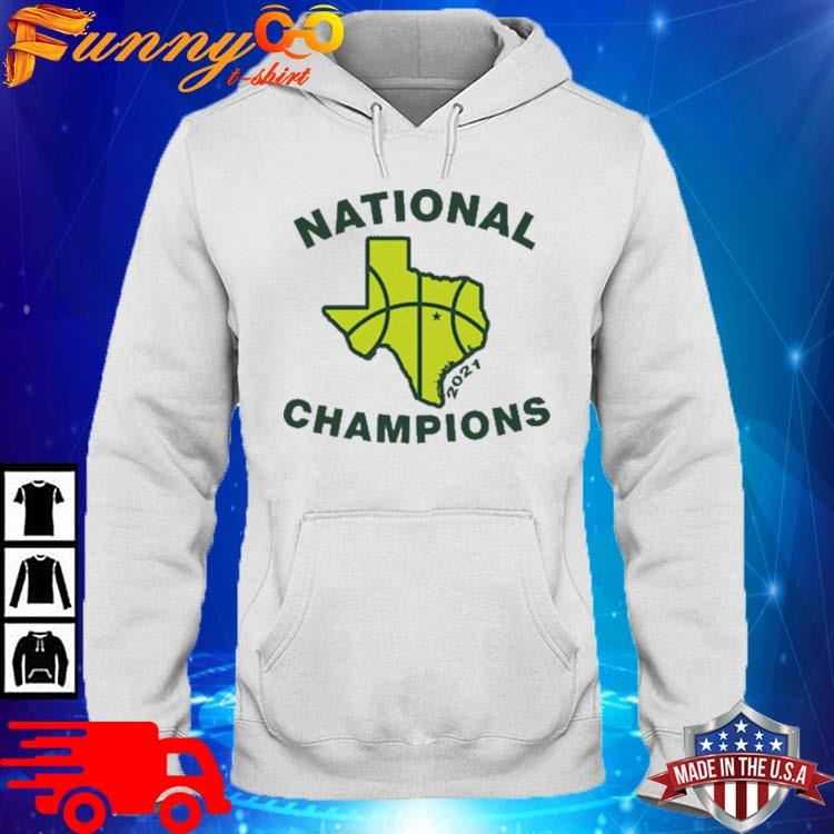 Texas Waco National Champions 2021 Shirt hoodie trang